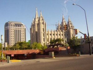 The Mormon Temple, Salt Lake City