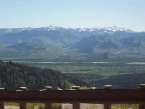 outside Jackson Hole