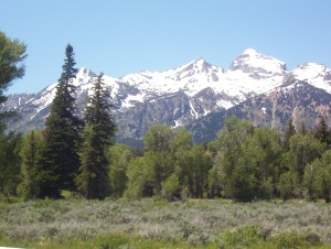 picturesque Tetons