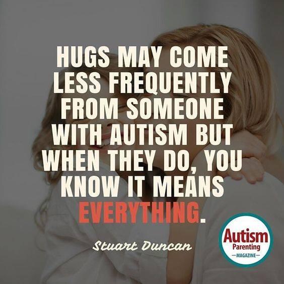 autism hugs