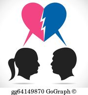 breakup-couple-vector-stock_gg64149870
